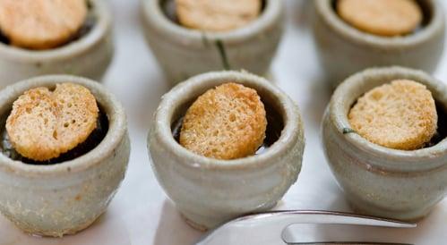 Escargots à la Bourguignonne - Burgundy Snails, Garlic Herb Butter, Croutons
