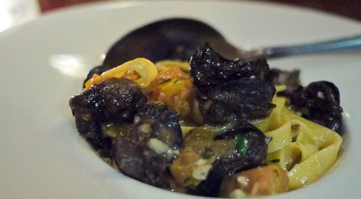 Escargot Fettuccini