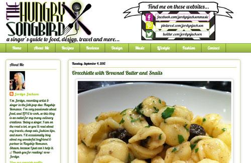 WIld Burgundy Snails & Orecchietee Pasta