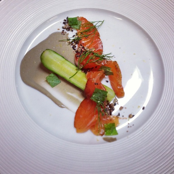 Cured Salmon, Snail